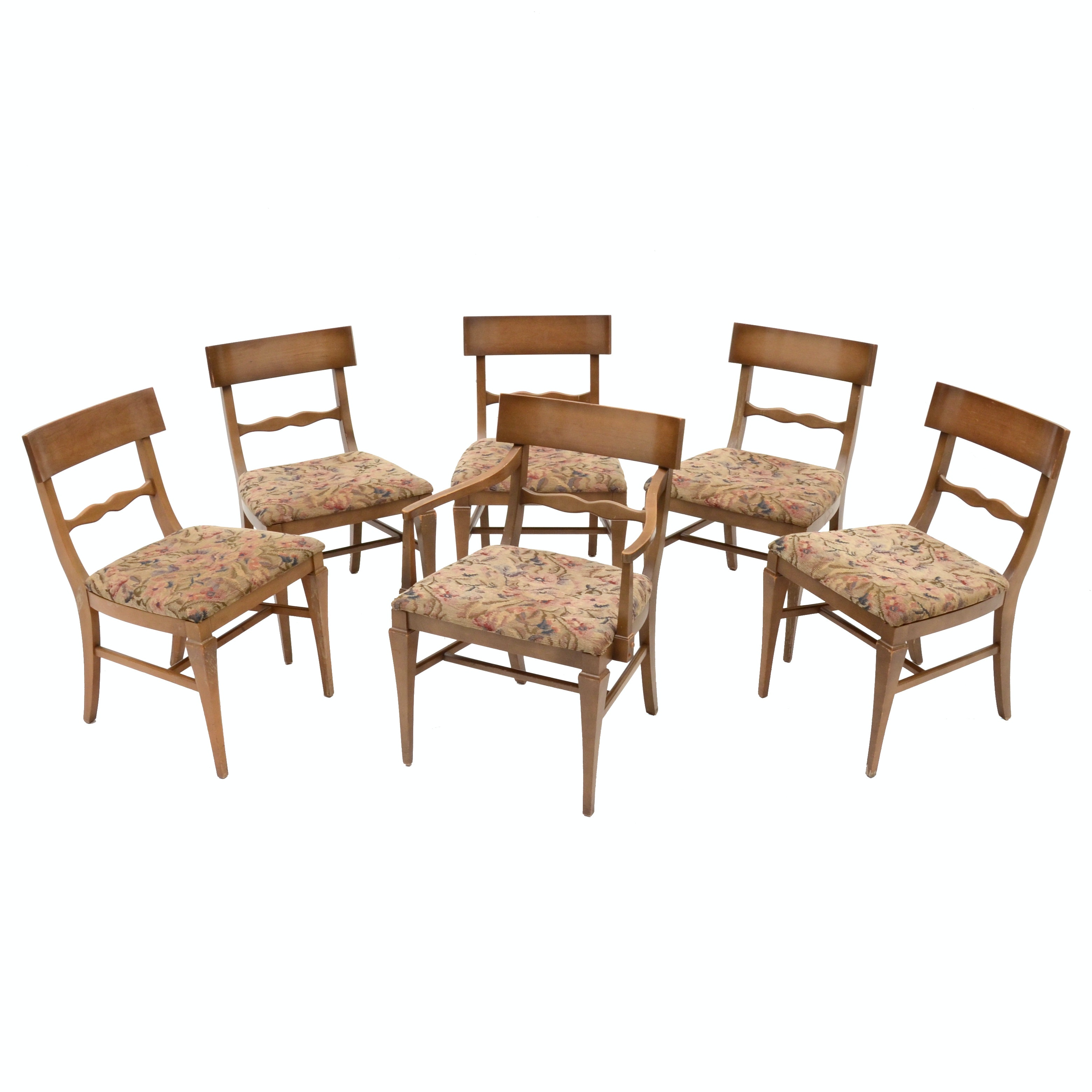 Mid Century Dining Chairs By Lenoir Chair Company ...