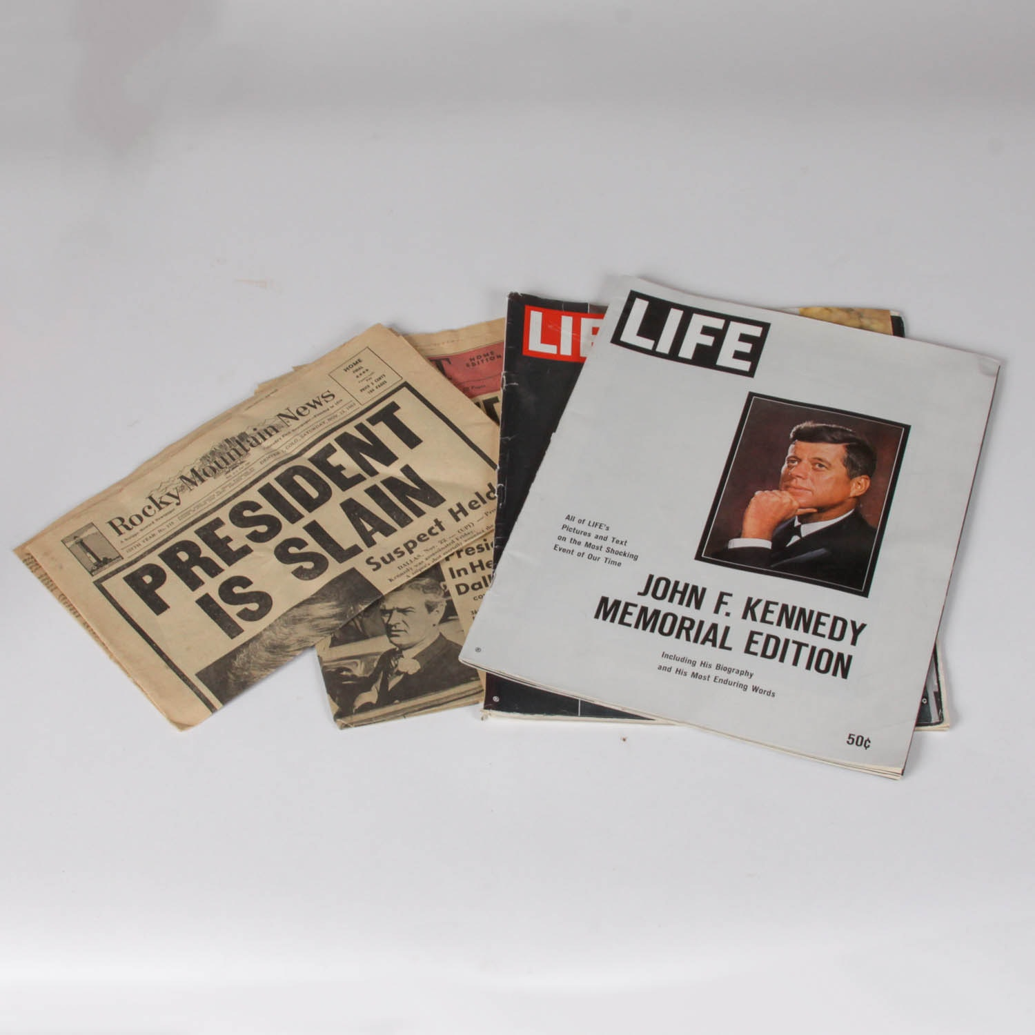 Collection of Historic JFK Asassination Publications