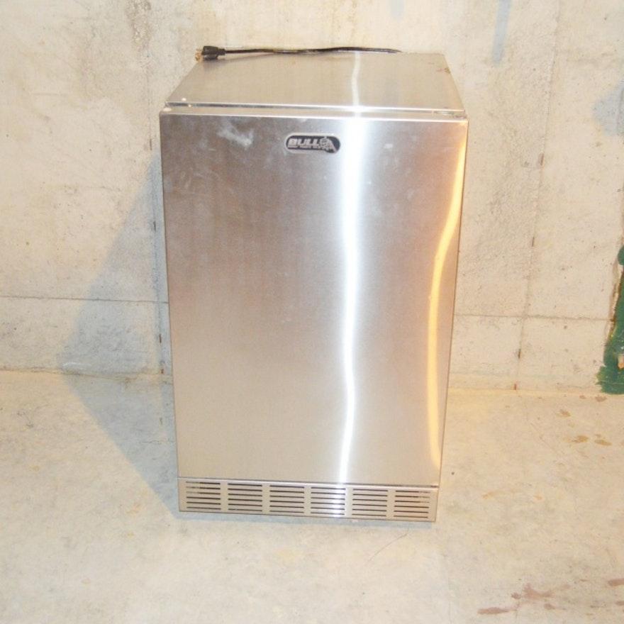 Bull Stainless Steel Indoor Outdoor Refrigerator