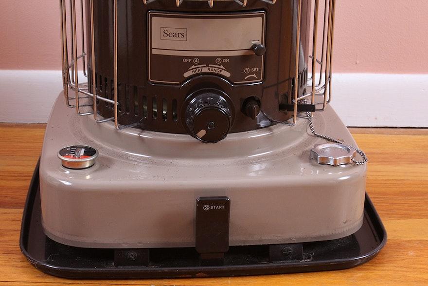 Vintage Sears Kerosene Heater Ebth