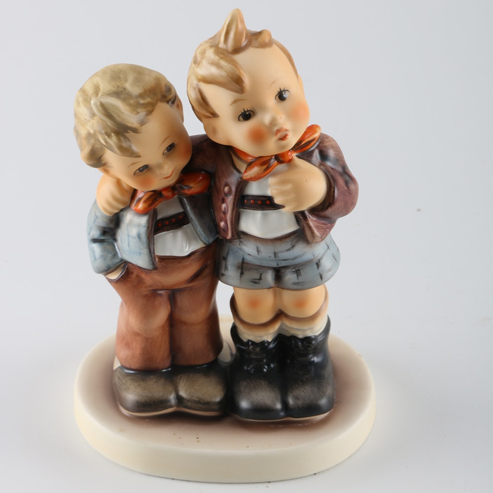 hummel max and moritz just dozing for staff members only figurines ebth. Black Bedroom Furniture Sets. Home Design Ideas