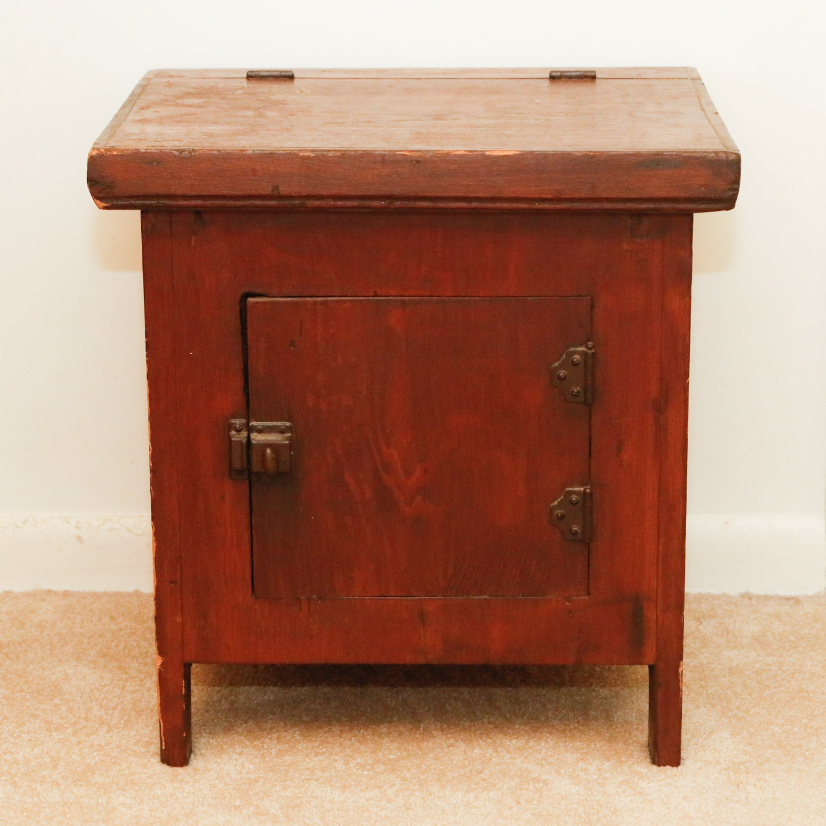 Antique Commode Cabinet ...