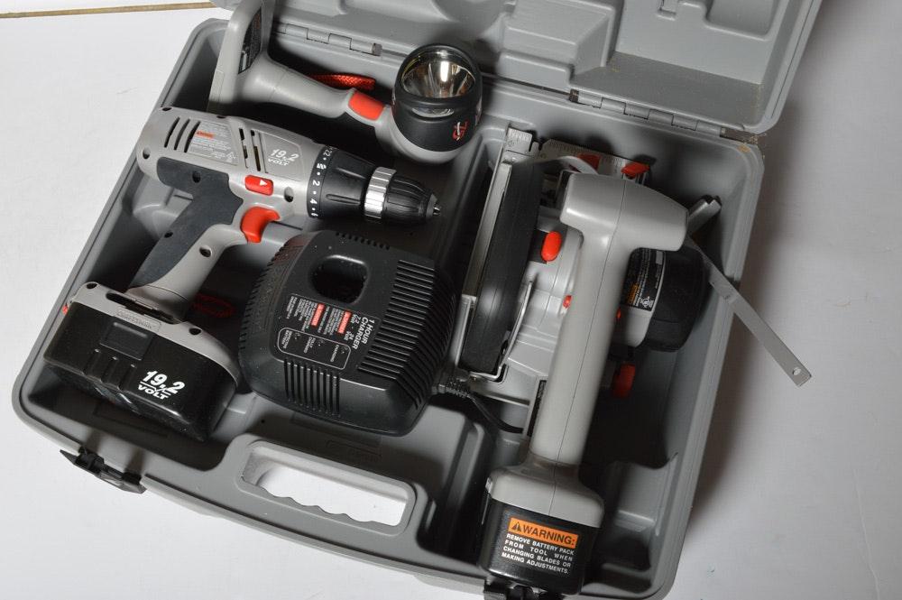 Craftsman 75th Anniversary Cordless Power Tool Combo Ebth