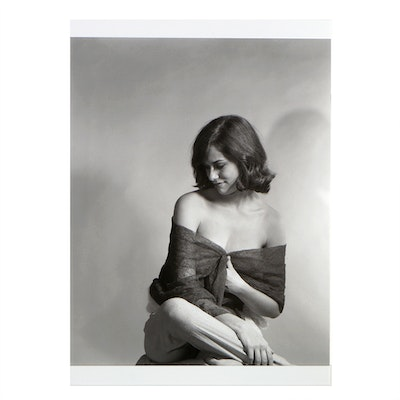 Photographic Print of Lauren Hutton in 1962 by Norman Nathan
