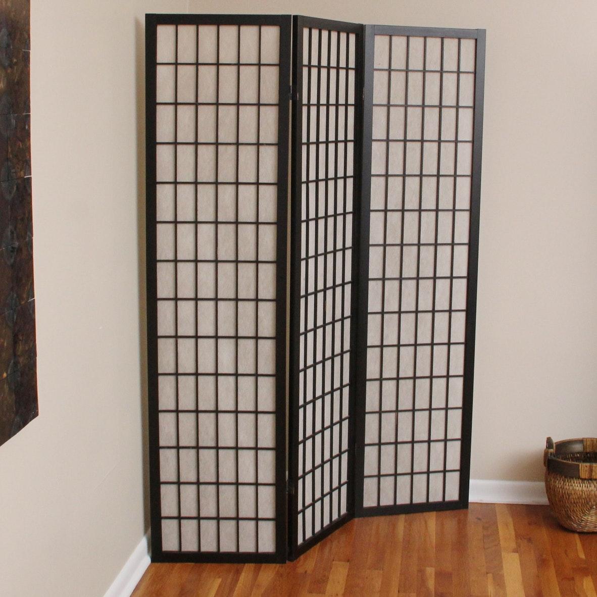 Three Paneled Room Divider