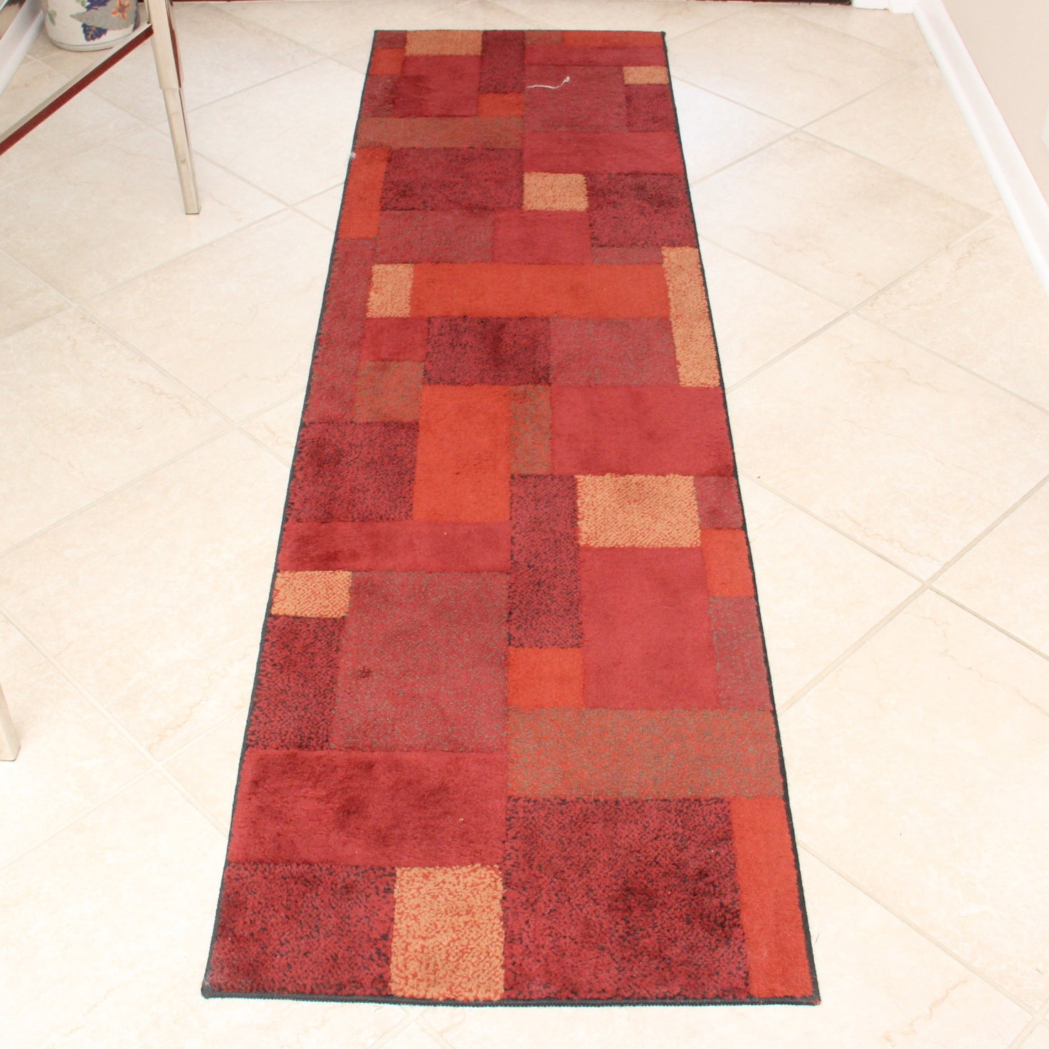 Set of Three Machine Woven Contemporary Area Rugs