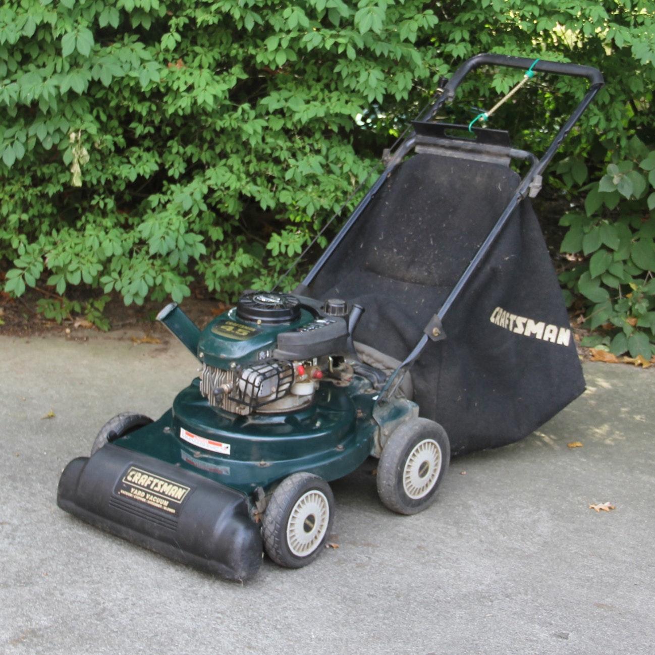 Craftsman 4.5 Horse Powered Lawn Vacuum