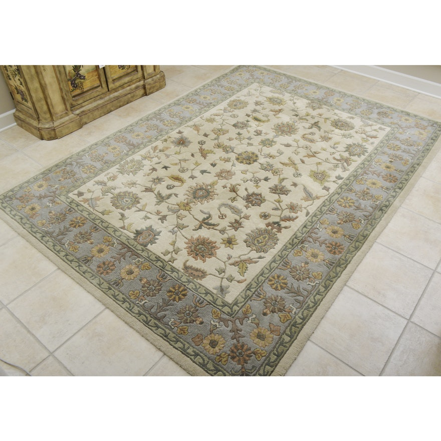 """Royal Nepal-Keshan"" Area Rug By Capel : EBTH"