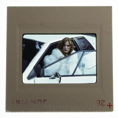 Original 35mm Slide of Victoria Johnson by Bob Guccione