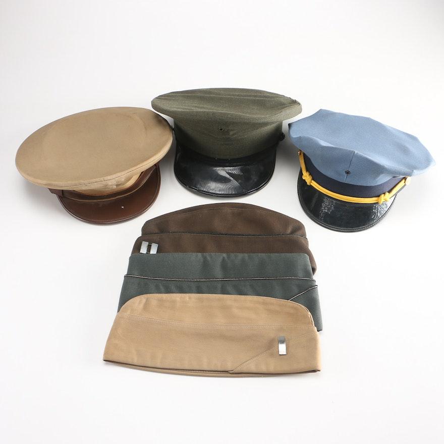 Military Dress Hats   EBTH 3f50759fc52
