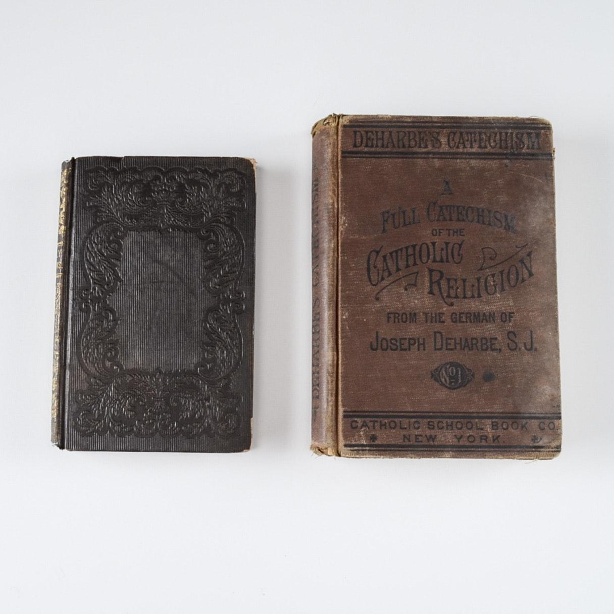 Pairing of Antique Religious Books