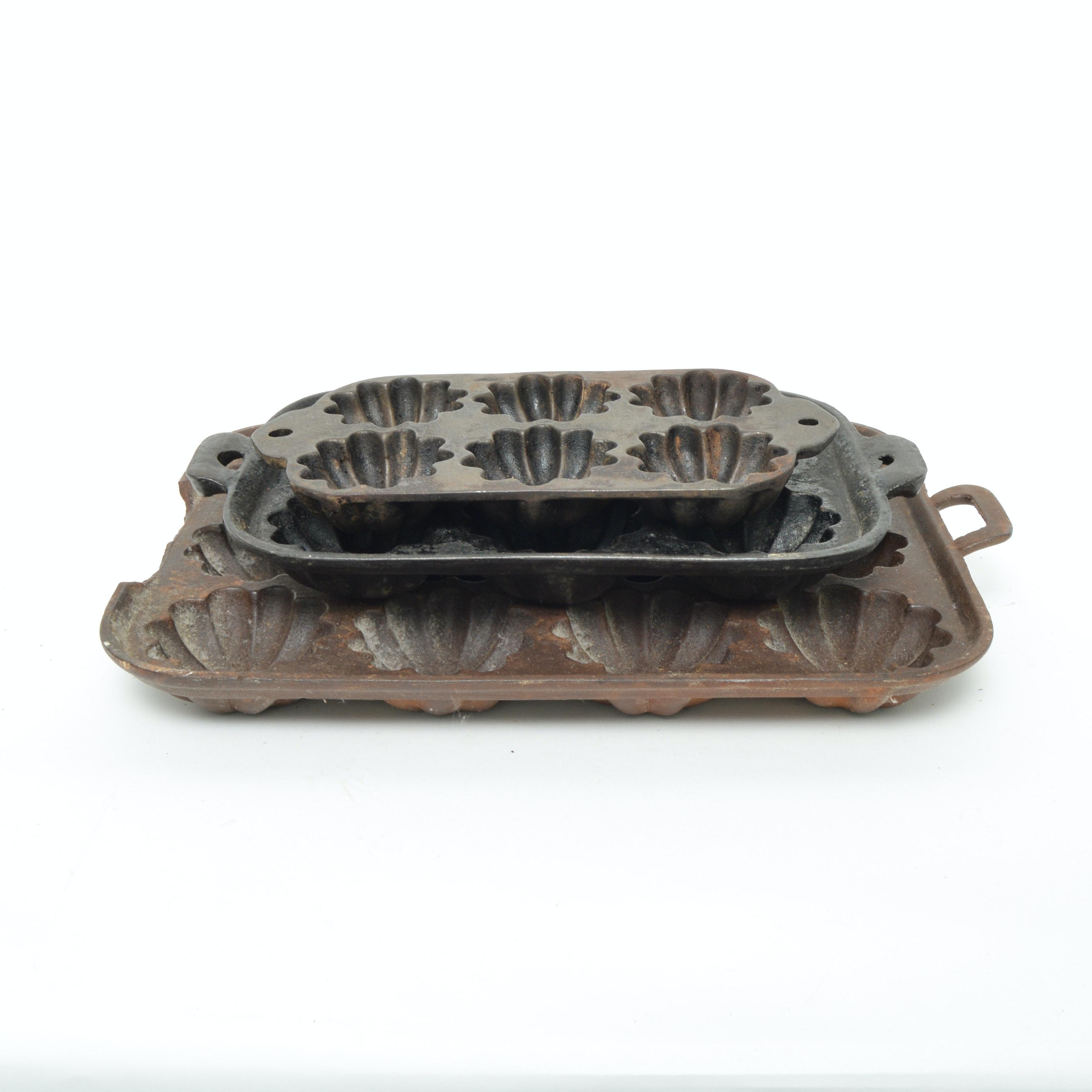 Vintage Cast Iron Cornbread Pans