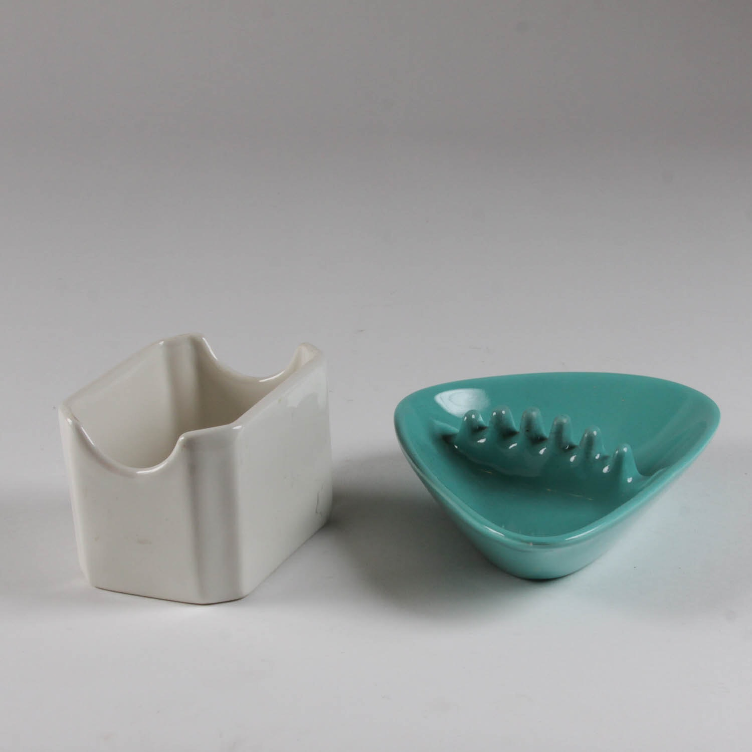 Pair of Mid-Century Coors Ashtrays