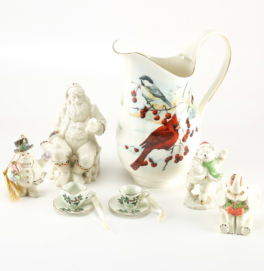 Porcelain christmas decor ebth