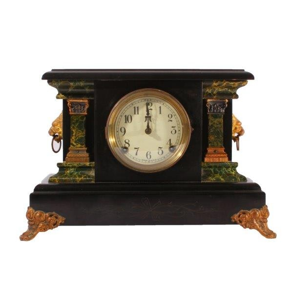 Sessions Cathedral Turn Back Mantel Clock