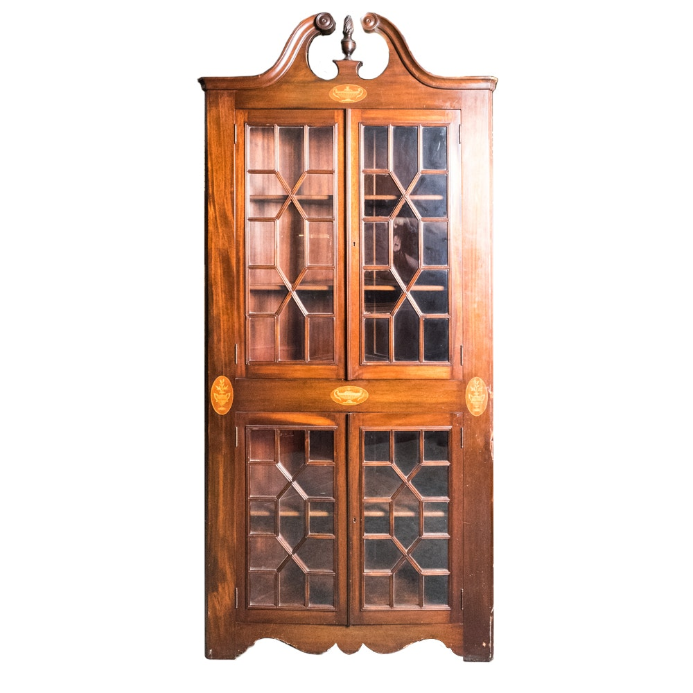 china kitchen cabinets antique federal style china cabinet ebth 2176