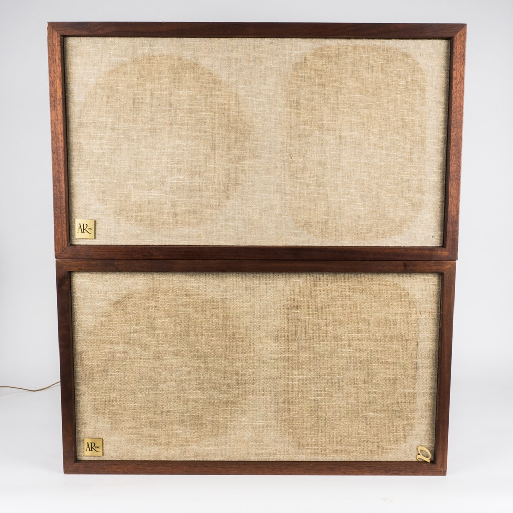 Vintage Acoustic Research 2ax Speakers