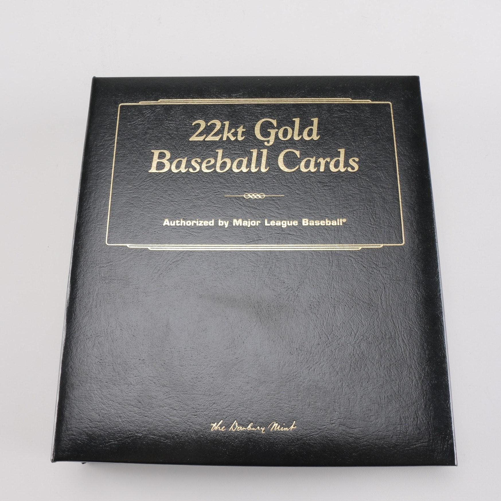 22kt Gold Baseball Cards