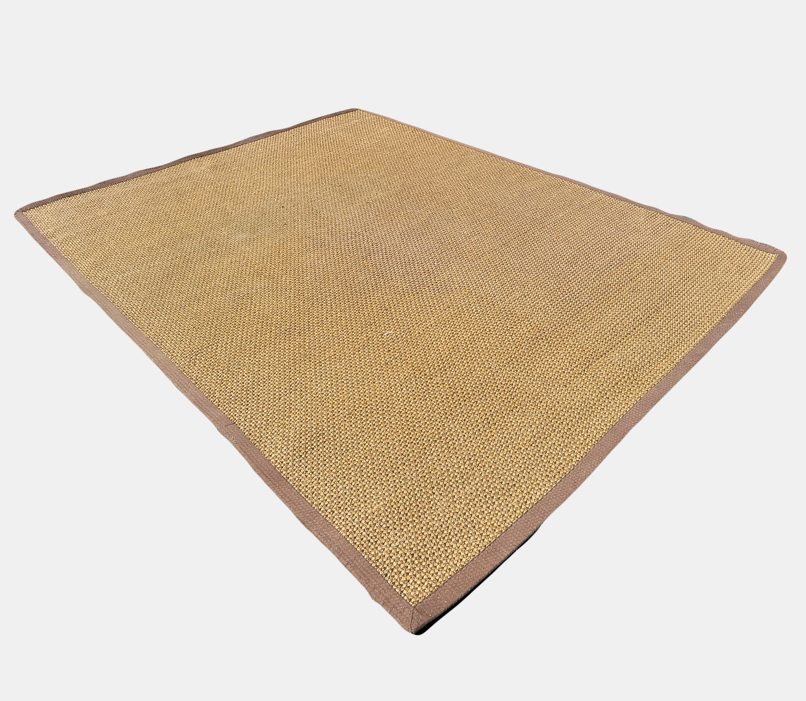 Large Woven Jute or Seagrass Area Rug