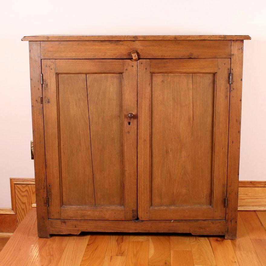 Antique Walnut Jam Cupboard ... - Antique Walnut Jam Cupboard : EBTH