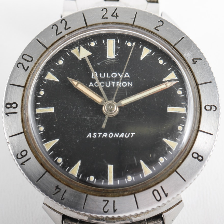 Vintage 1963 bulova accutron astronaut watch ebth for Astronaut watches