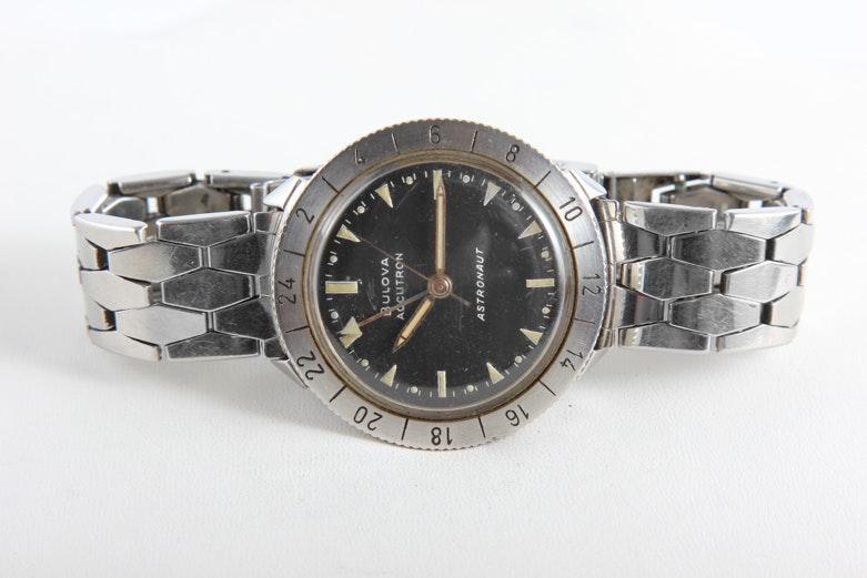 Vintage 1963 Bulova Accutron Astronaut Watch : EBTH