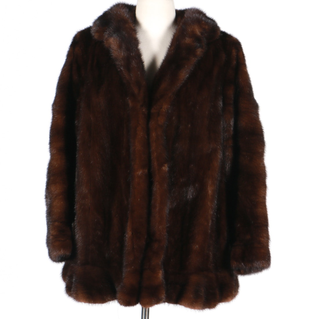 Vintage Women's Mahogany Mink Coat