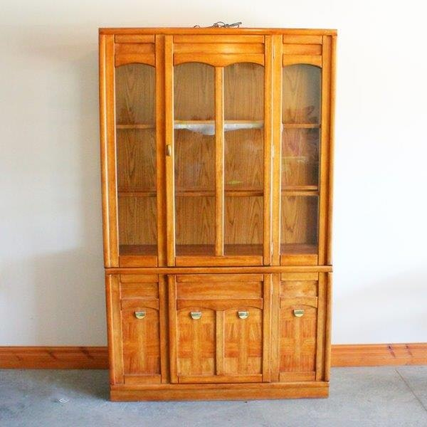 Universal Furniture China Cabinet with Interior Light