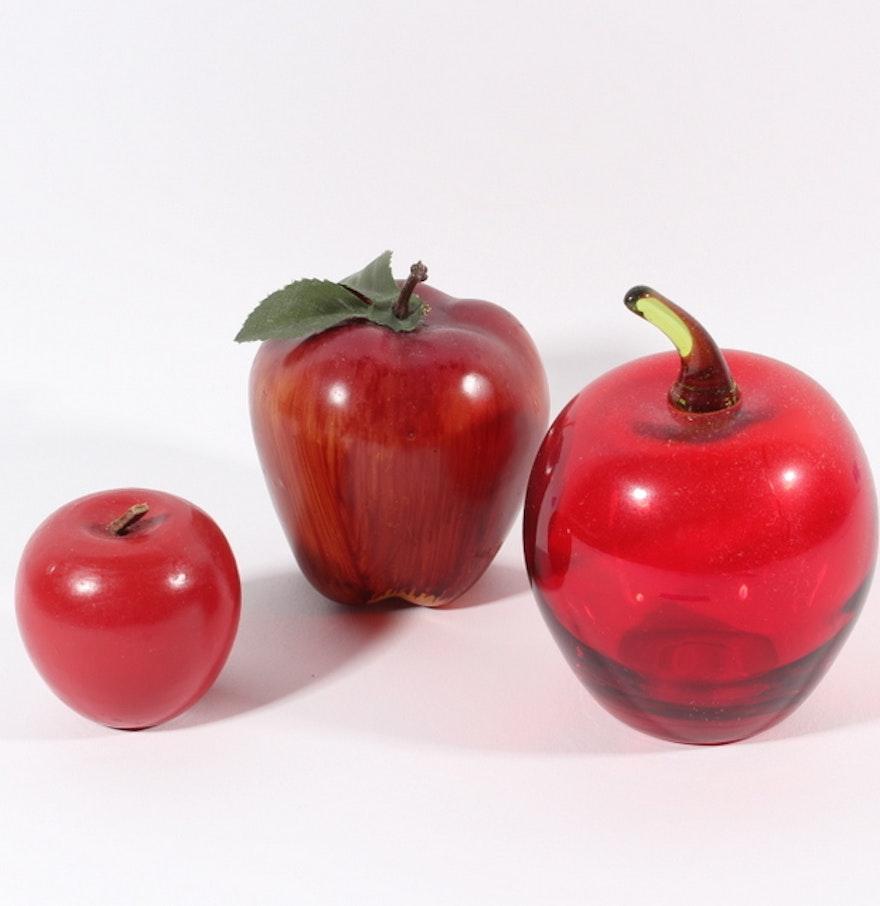 Apple themed d cor ebth for Apple decoration