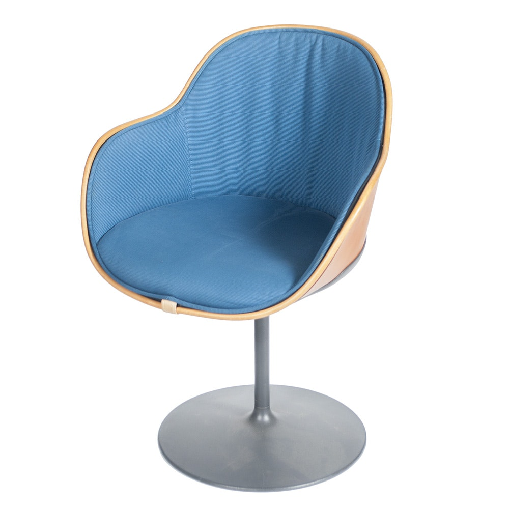 Cassina Contemporary Bucket Swivel Chair