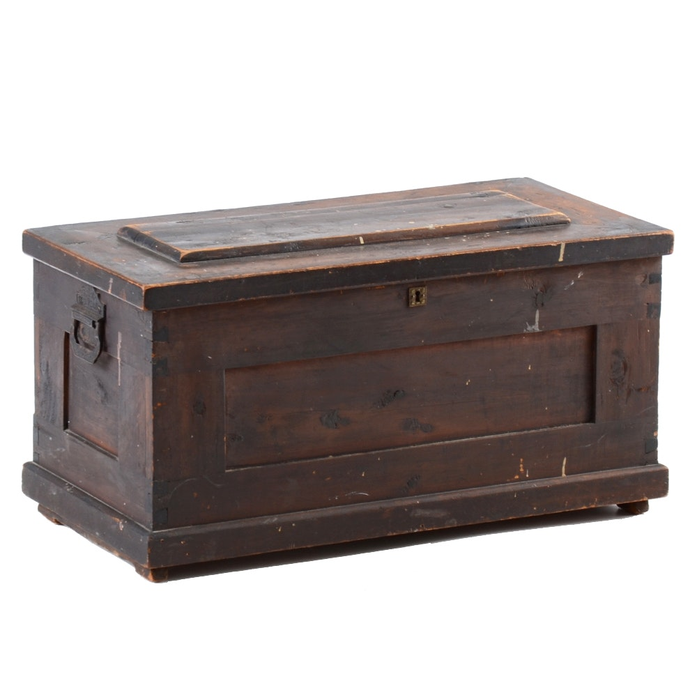 Antique Cedar Hope Chest Ebth