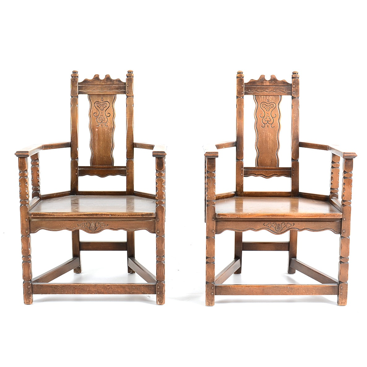 Pair of Robert Mitchell Furniture Co. Chairs