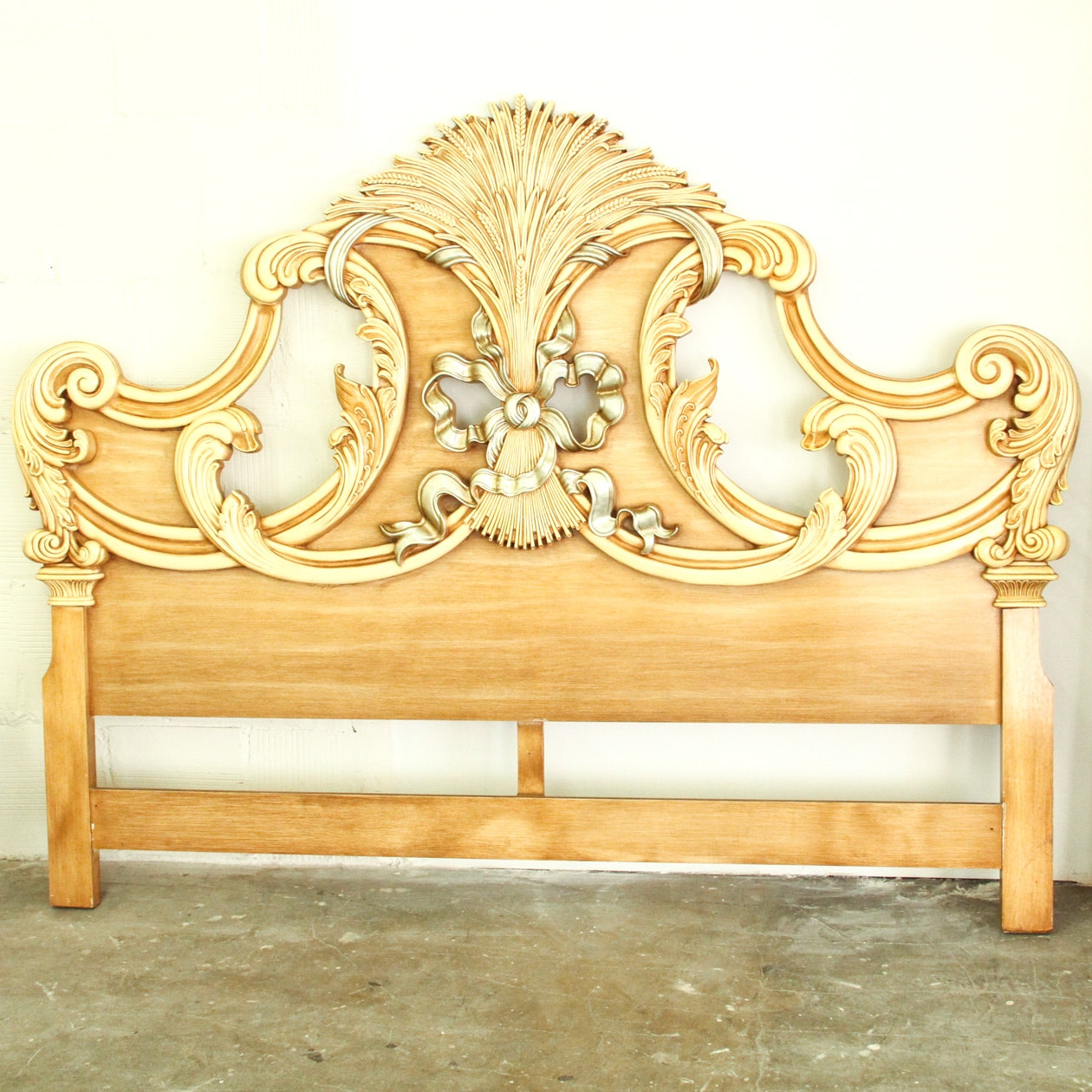 Baroque Inspired Queen Size Headboard