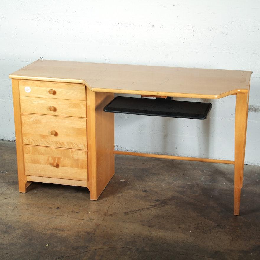 Stanley Furniture Maple Computer Desk Ebth
