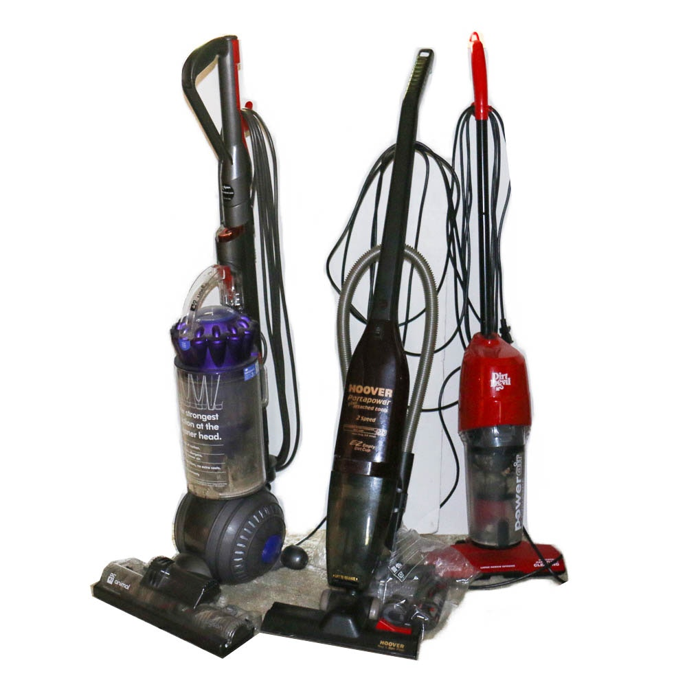 dyson hoover and dirt devil vacuum cleaners ebth. Black Bedroom Furniture Sets. Home Design Ideas