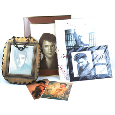 Vintage Elvis Presley Wall Art and Pictures