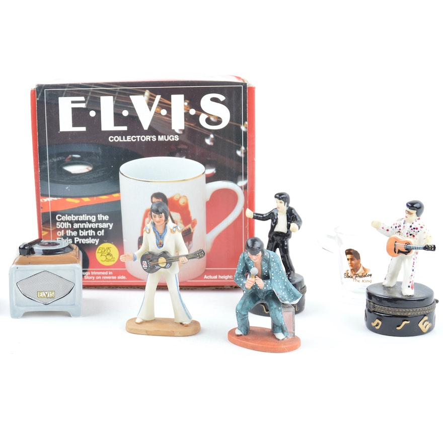 485b449db69 Elvis Collector Mugs and Collectible Decor   EBTH