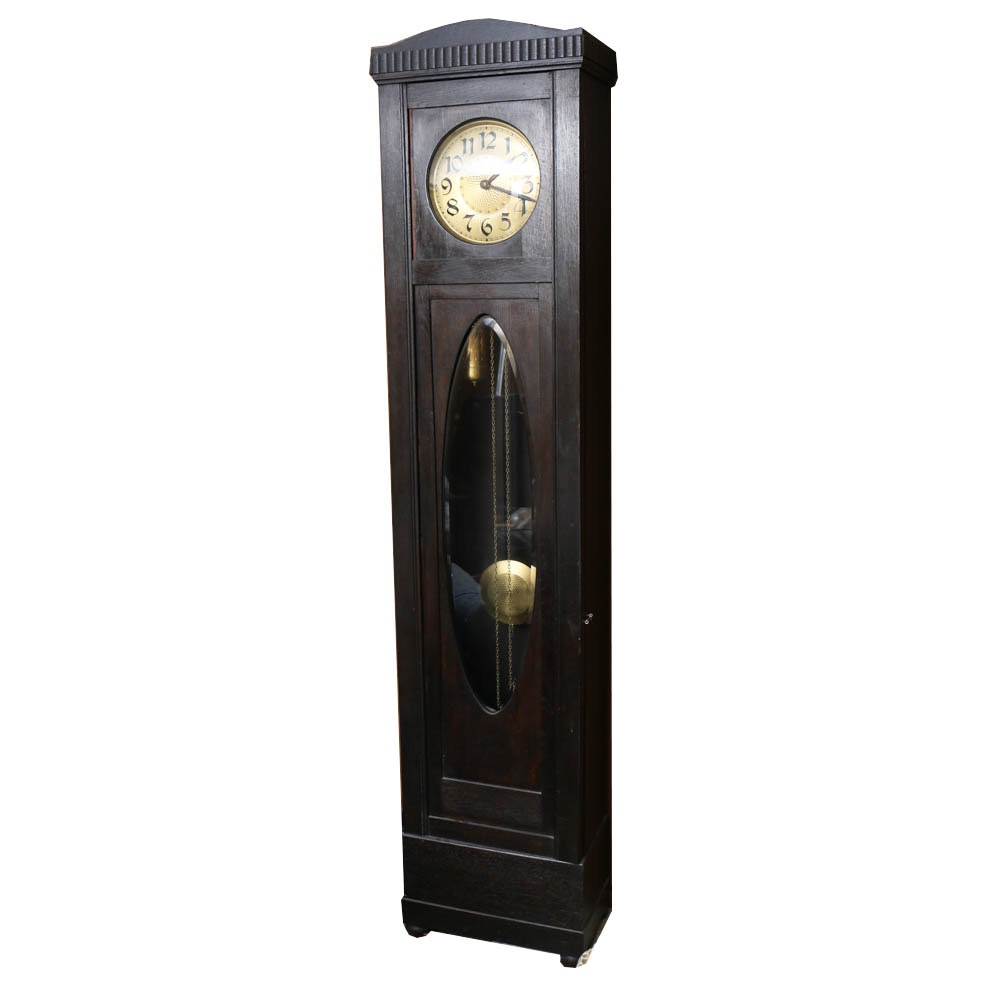 Arts and Crafts Tall Case Clock
