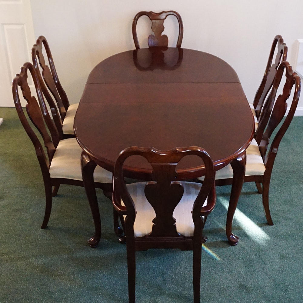 Universal Furniture Dining Table and Dining Chairs