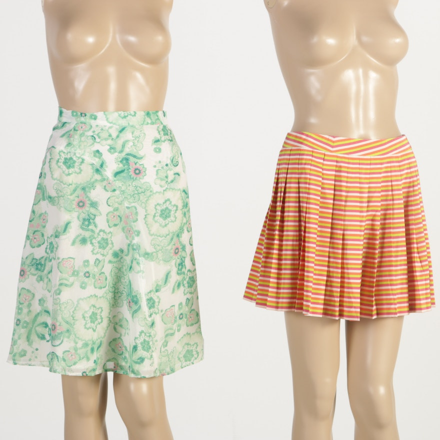 6dd2b94910 Pair of Lacoste and Burberry Skirts   EBTH