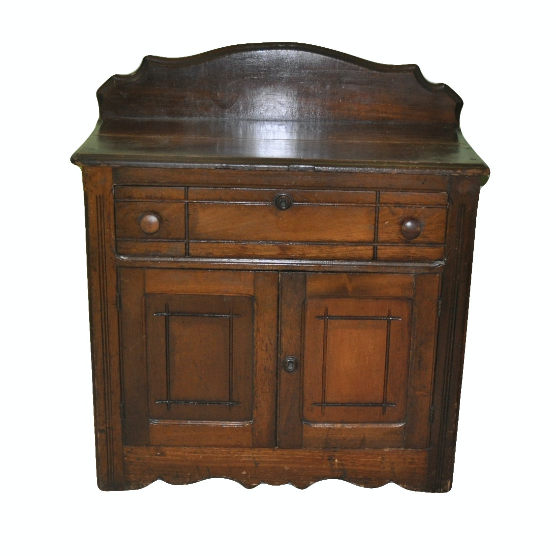 Side Table with Cabinet