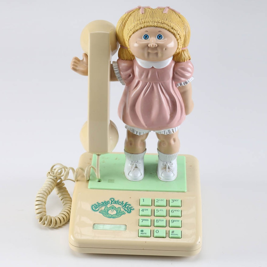 Vintage Cabbage Patch Kids Push Button Telephone