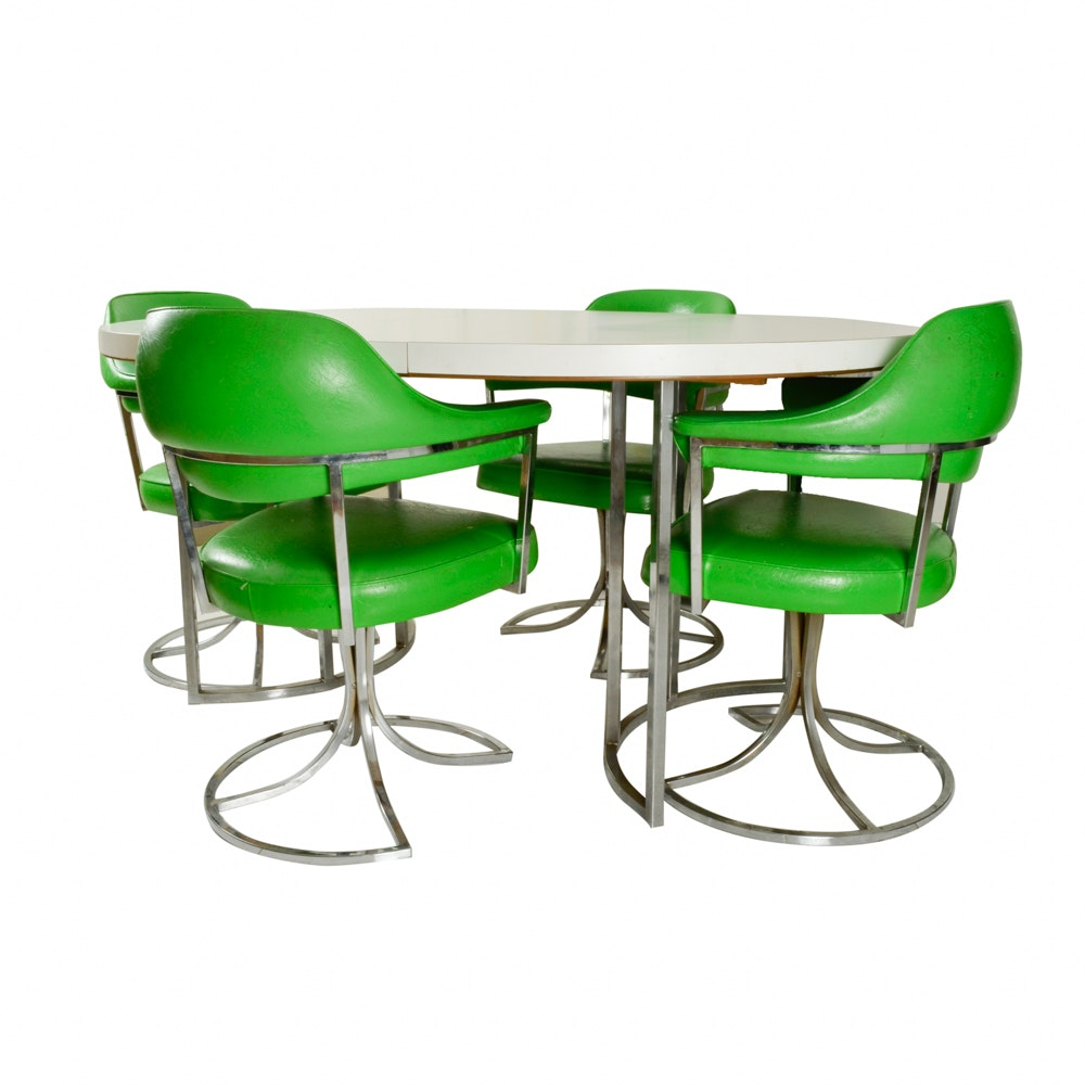 Beautiful Cal Style Furniture Table And Chairs ...