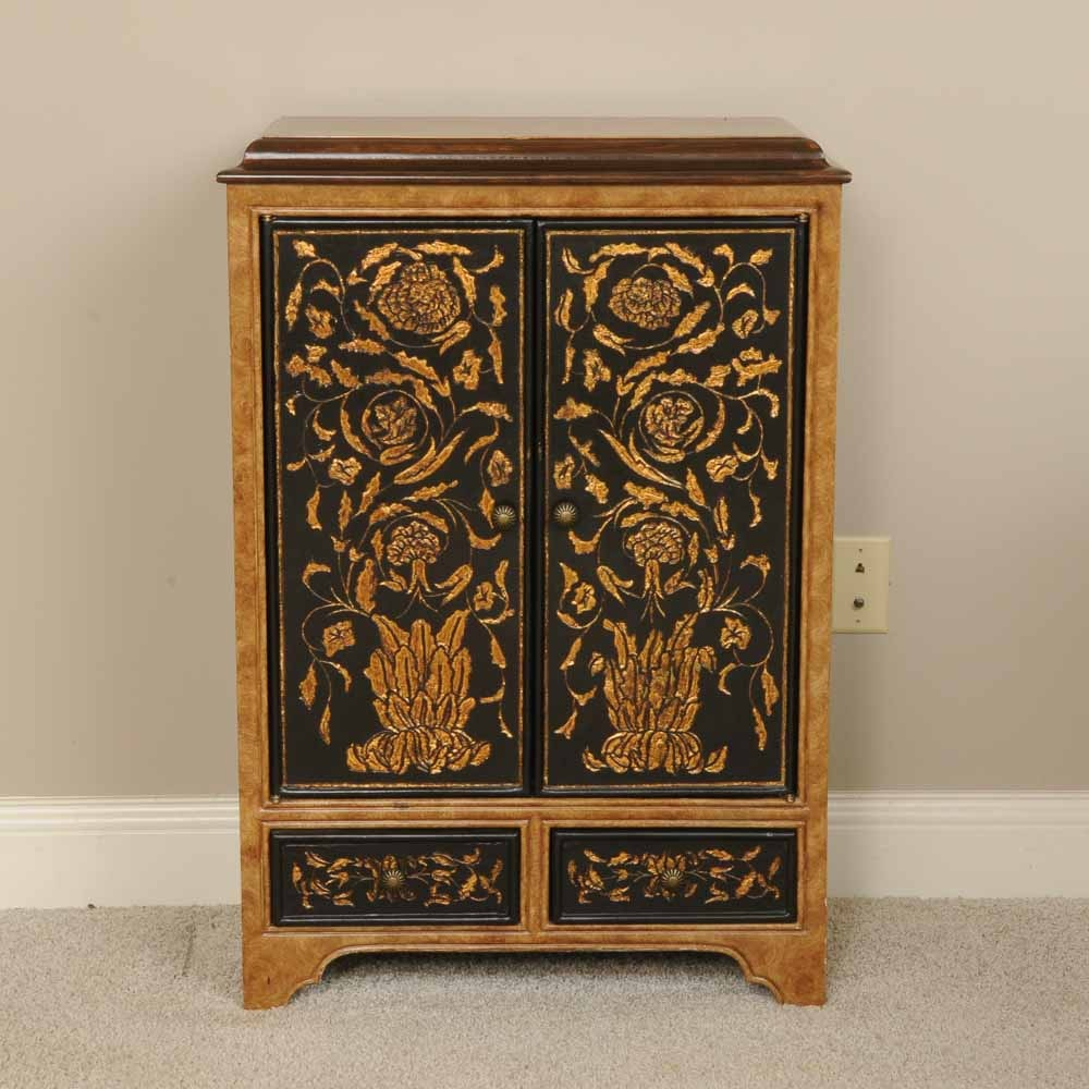 Asian Inspired Small Cabinet