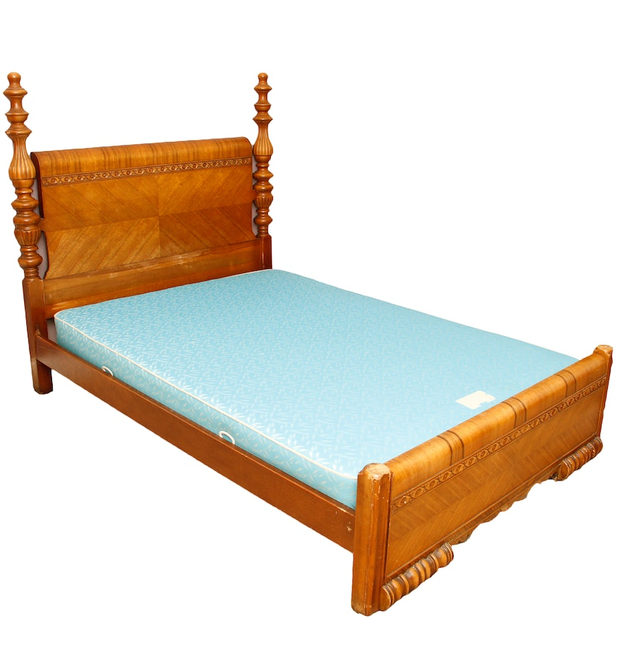 Art Deco Waterfall Full Size Bed Ebth