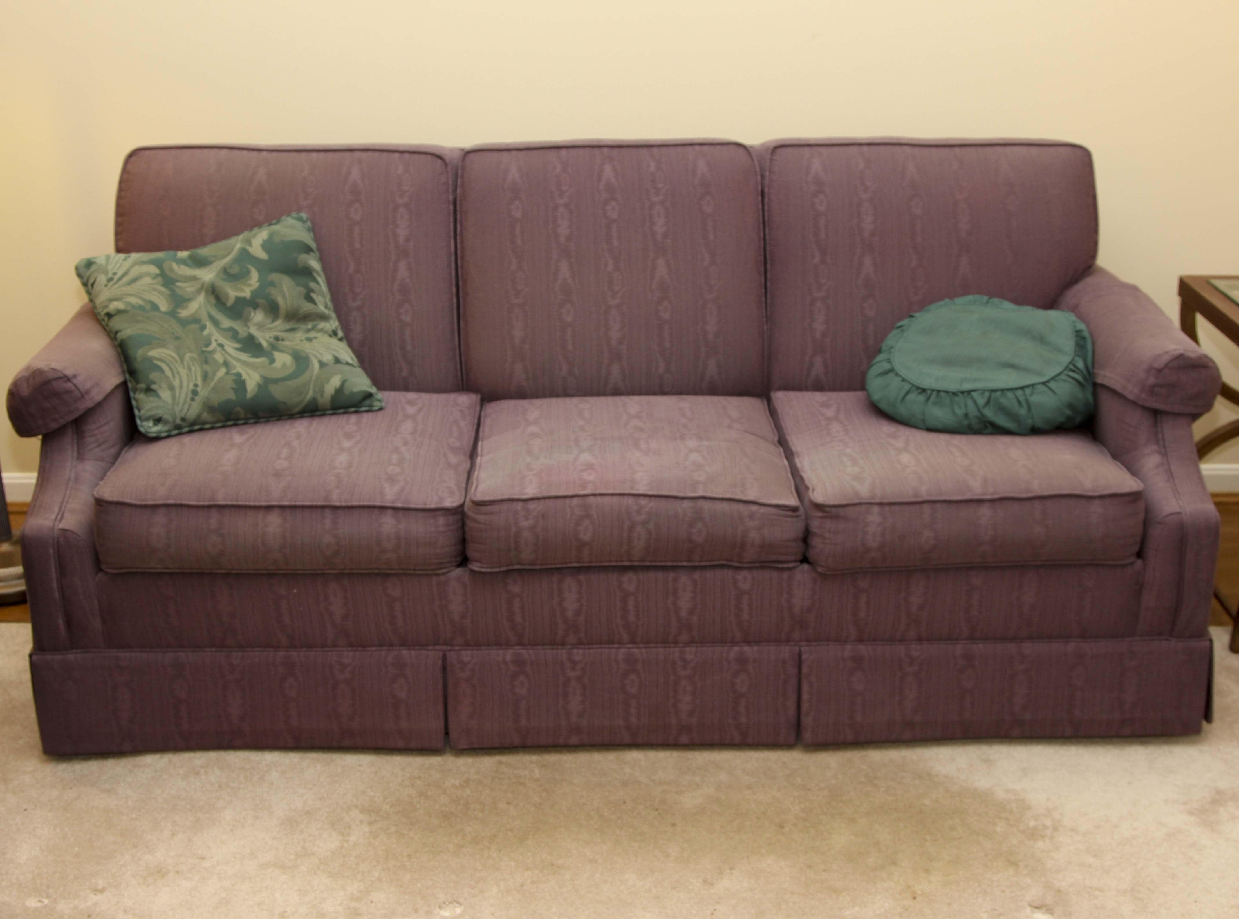 Purple Sleeper Sofa By Norwalk Furniture ...