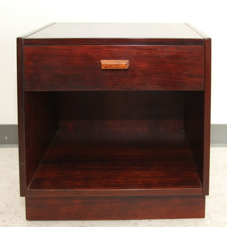 Danish Modern Rosewood End Table By Art Furn ...