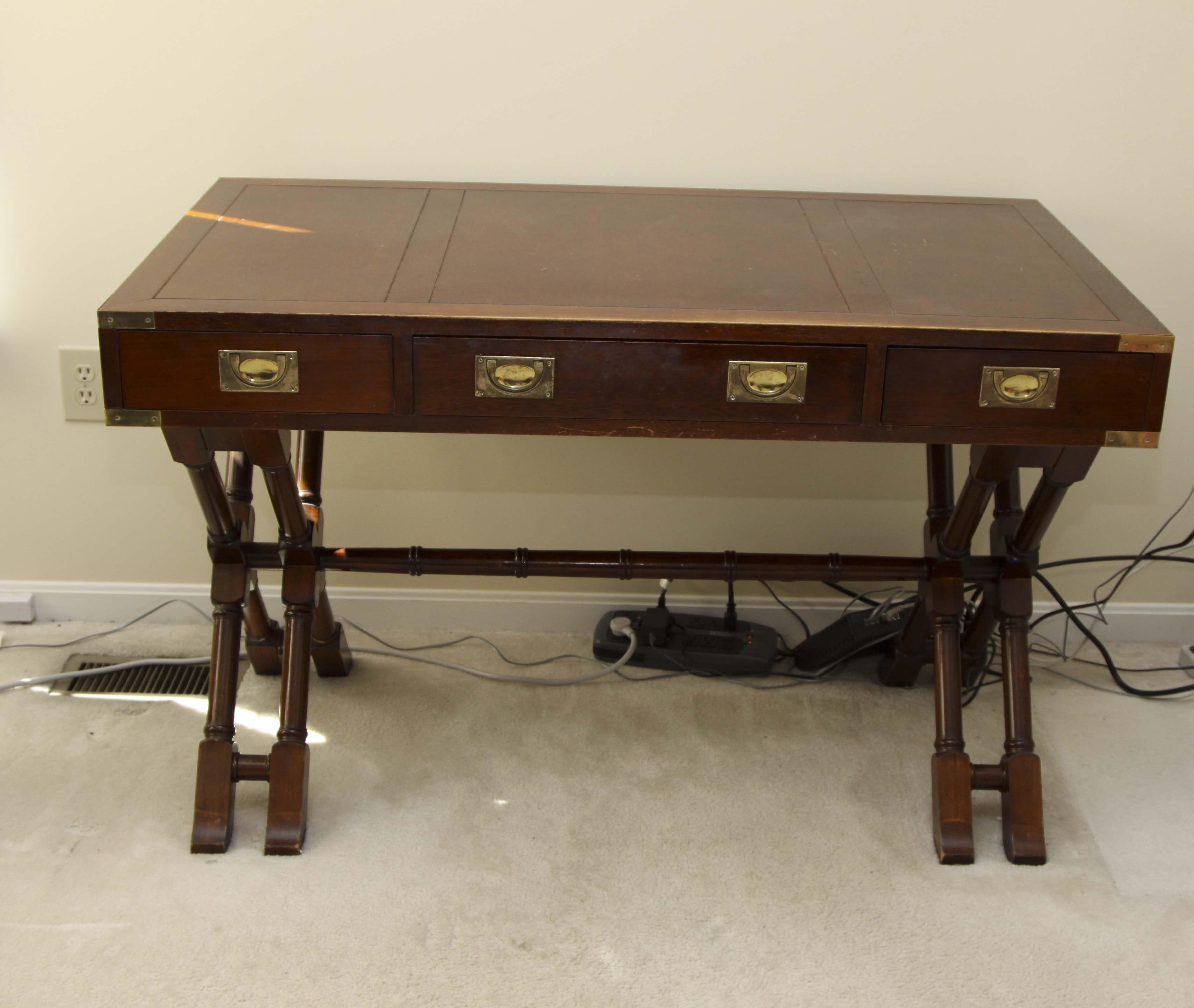 campaign desk by bombay company