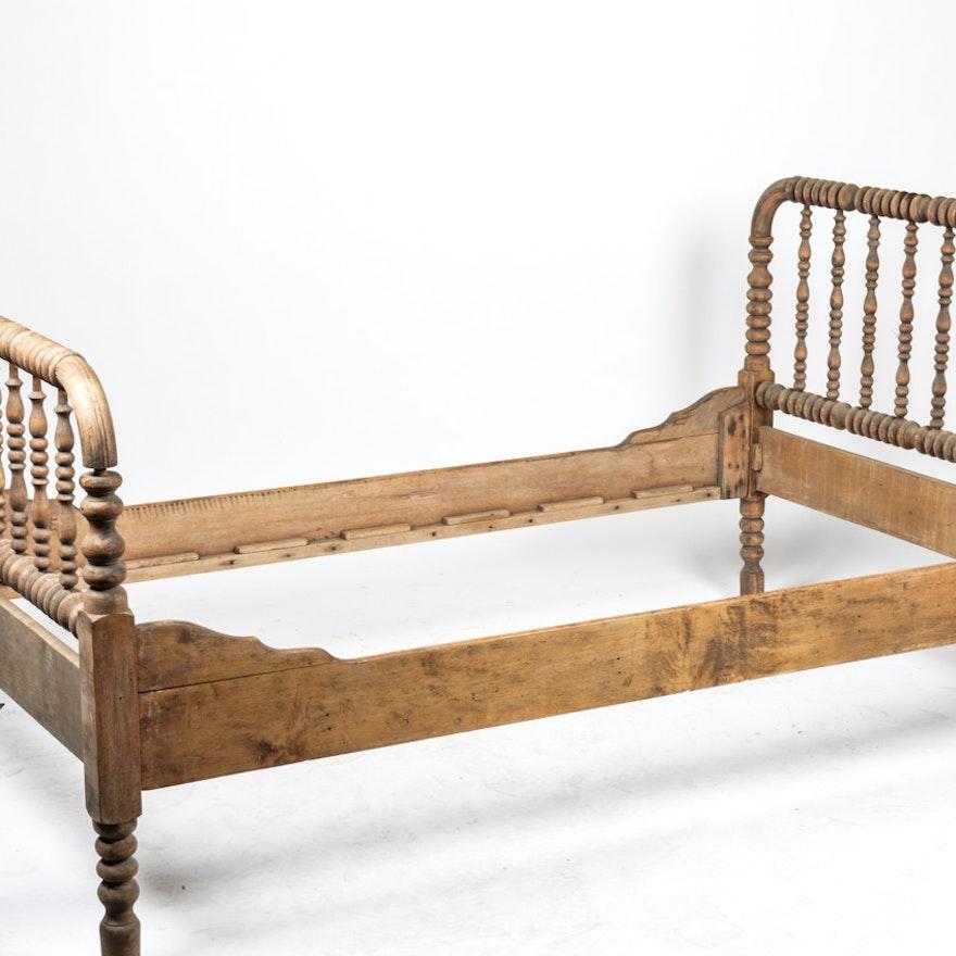 Antique Jenny Lind 3 4 Bed Frame Ebth