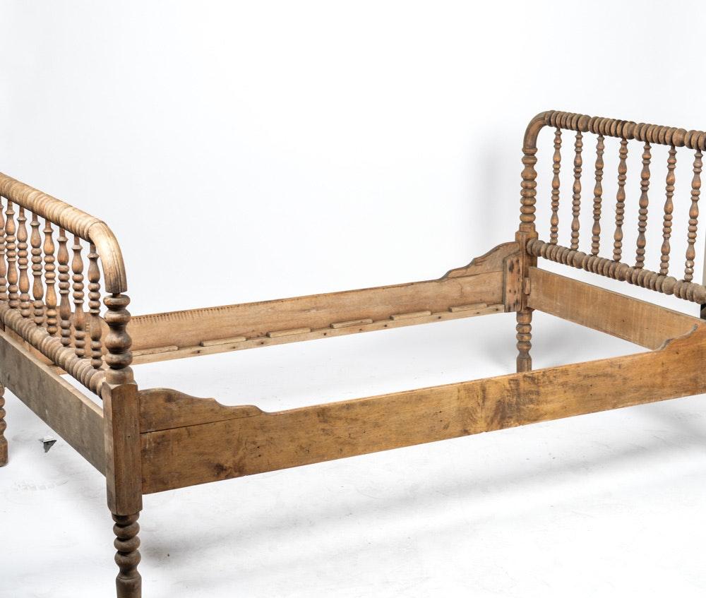 antique jenny lind 34 bed frame - Jenny Lind Bed